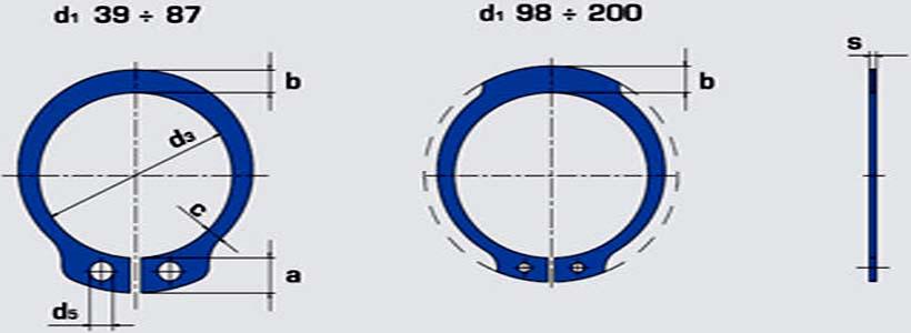 خار فنری DIN471
